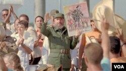 El gobierno de Fidel Castro arrestó a un grupo de 75 detractores condenados en la primavera negra del 2003.