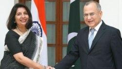 وزیران امور خارجه هند و پاکستان ملاقات می کنند