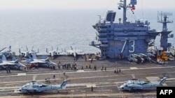 美韩联合军事演习正在进行