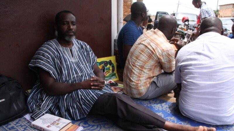 L'opposant togolais en grève de la faim évacué à Accra