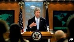 ABD Dışişleri Bakanlığı'nın 2012 İnsan Hakları Raporu Bakan John Kerry tarafından kamuoyuna açıklandı