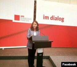 12 yıldır SPD'nin Hamburg milletvekili olarak mecliste yer alan Aydan Özoğuz