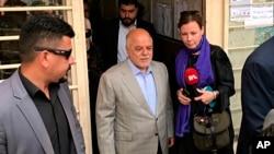 Firayim Ministan Iraqi Haider al-Abadi, a tsakiya