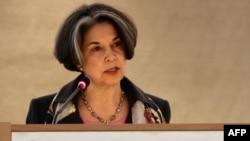 Thứ trưởng Ngoại giao Mỹ Maria Otero
