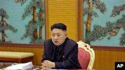 北韓領導人金正恩(資料圖片)