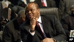 King Mswati III of the Kingdom of Swaziland at the Southern African Development Community (SADC) Extraordinary Summit in Johannesburg, June 11, 2011. South Africa agreed on August 3, 2011 to lend $355 million to neighboring Swaziland on condition that Kin