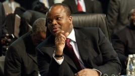 King Mswati III of the Kingdom of Swaziland at the Southern African Development Community (SADC) Extraordinary Summit in Johannesburg, June 11, 2011.