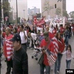 Sa jedne od demonstracije na kojima Amerikanci traže bolju kontrolu granica