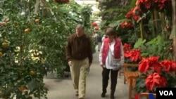 美國植物園 節日展覽以吸引遊客