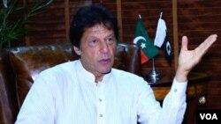 د پاکستان د تحریک انصاف گوند مشر عمران خان