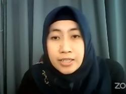 Tangkapan layar aktivis Koalisi Perempuan Indonesia Wiwik Afifah (Youtube LBH APIK Jakarta)