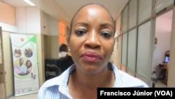 Natércia Monjane, chefe do Departamento de Promoção de Saúde