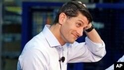 """Paul Ryan junto al jefe de la bancada republicana en el Senado, Mitch McConnell fueron señalados por el presidente como culpables del """"enredo""""."""