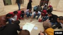 USAID democracy program in Jordan.