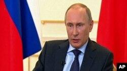 ປະທານາທິບໍດີຣັດເຊຍ ທ່ານ Vladimir Putin