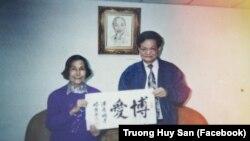Ông Dương Danh Dy. (Facebook Truong Huy San)