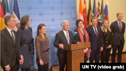 AB üyesi ülkelerin BM temsilcileri