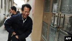 中国广东乌坎村维权运动的领导人林祖恋(资料照片)