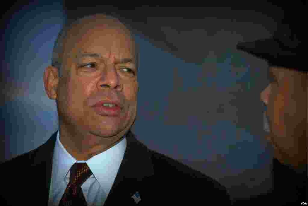 Министр внутренней безопасности США Джей Джонсон