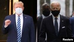 Trump Biden Mask