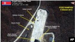 Rampanın uzaydan çekilmiş fotoğrafı