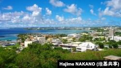 A view of Hagatna, in Guam