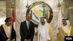 Predsednik Obama na sastanku u Rijadu