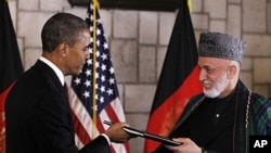 امریکہ اور افغانستان کے صدور نے رواں ماہ کے اوائل میں اس معاہدے پر دستخط کیے تھے