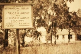 The original repository for Hugh Tracey's recordings was the International Library of African Music, which was originally on a smallholding near Johannesburg (Photo: ILAM)
