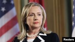 U.S. State Secretary Hillary Clinton.