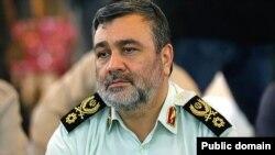 سردار اشتری فرمانده نیروی انتظامی