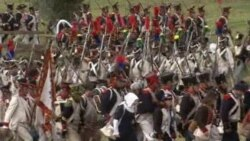 History Buffs Reenact 1813 Battle of the Nations