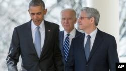 Барак Обама и Меррик Гарланд