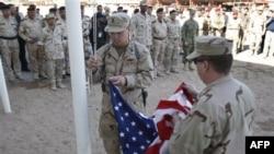 To'qqiz yildan so'ng bayroqlar ham tushirildi, Amerika askarlari uyiga qaytishga tayyor