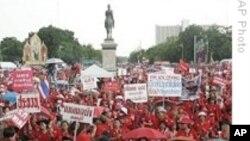 泰国发生多起抗议活动
