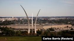 На фото: вид на комплекс будівель Пентагону у штаті Вірджинія