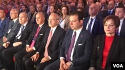 Kemal Kılıçdaroğlu CHP tarafından düzenlenen Uluslararası Suriye Konferansı'nda