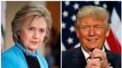 အမ်ိဳးသားလံုၿခံဳေရး ကိုင္တြယ္ႏိုင္ေၾကာင္း Trump နဲ႔ Clinton အၿပိဳင္အဆုိင္ ရွင္းလင္း