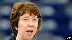 EU Foreign Policy Chief Catherine Ashton, (File).