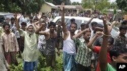 Kerusuhan sektarian kembali berkobar di negara bagian Assam, India (foto: dok). Setidaknya 80 orang telah tewas dan 300.000 mengungsi sejak Juli lalu.