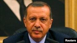 Rais wa Uturuki, Tayyip Erdogan Erdogan.