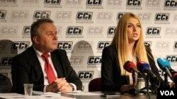 Ivica Ćavar i Ana Lučić, Centri civilnih inicijativa CCI