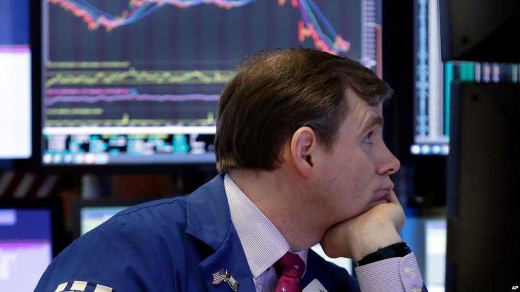 Los mercados financieros en EE.UU. abrieron a la baja el miércoles, 4 de abril, de 2018.