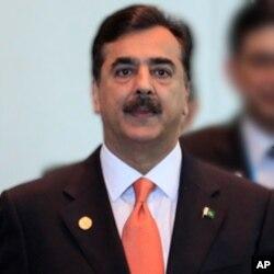 پاکستانی وزیراعظم گیلانی