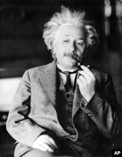 FILE - This undated file photo shows legendary physicist Dr. Albert Einstein, author of the theory of relativity.