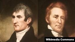 메리웨더 루이스와 윌리엄 클라크.