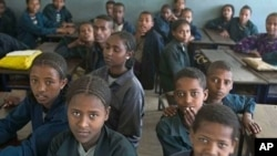 New report: The group highlight the great disparities in education for children across east Africa. The report found that Somalia was the worst country on earth for schoolchildren, with Ethiopia and Eritrea not far behind