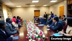 India VP visit to Rwanda