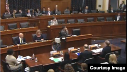 US Lower House Hearing on Myanmar Issue