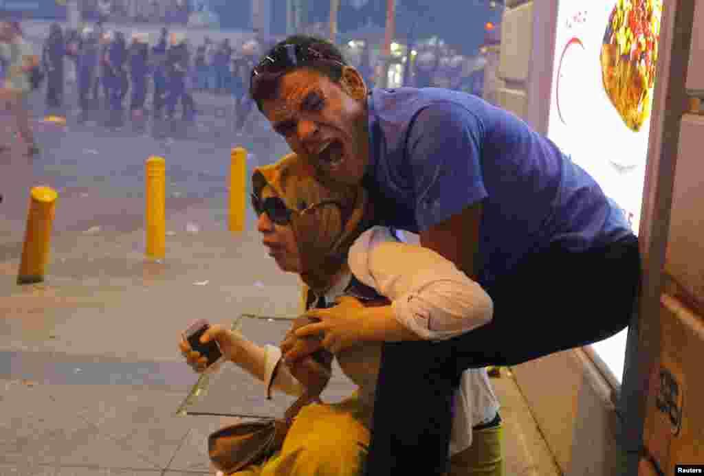 İstanbul - Surucdakıl terror hücumunda hökuməti ittiham edən aksiya
